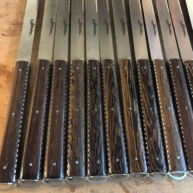 Cinquante nuances de Weng fiftyshades couteauxterroirsetcompagnie couteau bois wenge lescouteliersbasques