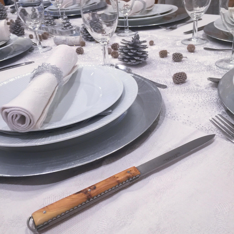 Artzaina, couteau de table basque en bois de genévrier