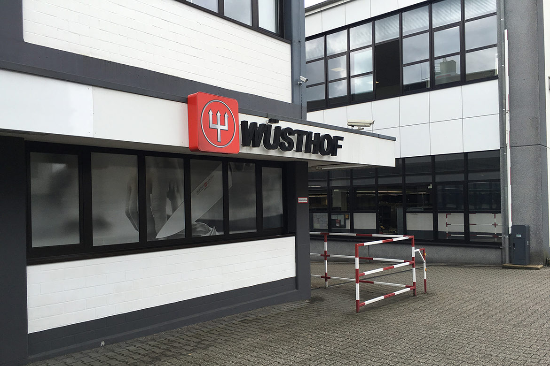 Visite des usines de fabrication des couteaux Wusthof à Solingen