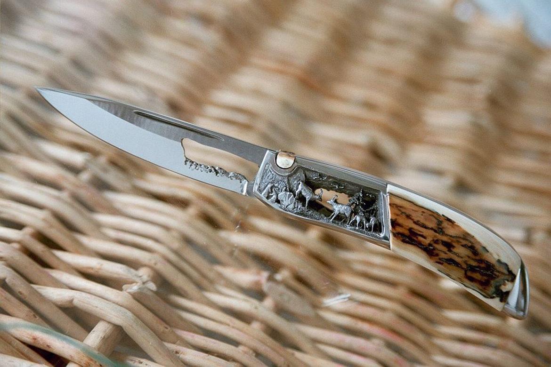 Couteau artisanal de Charles M. Roulin