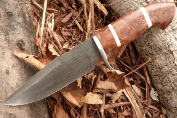 Couteau de chasse fabriqué en France par Thierry Desnoix