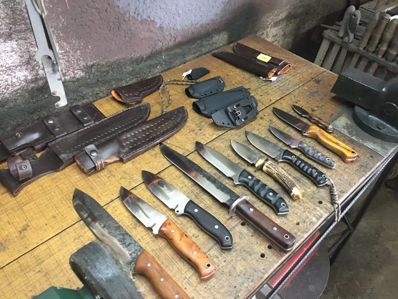Couteaux artisanaux de survie, bushcraft de Ps Cutelaria