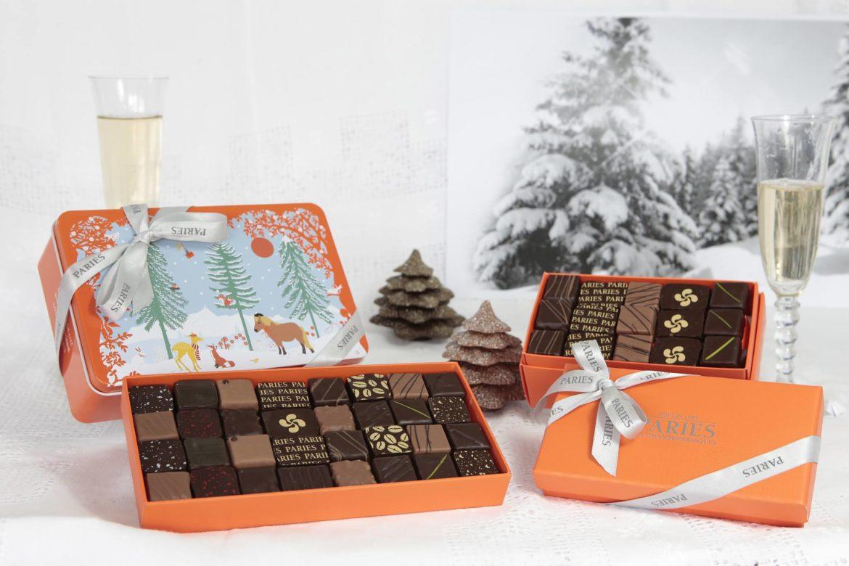 Maison Pariès, chocolats de noël