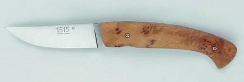 Couteau 1515 en bois de genévrier de Manu Laplace