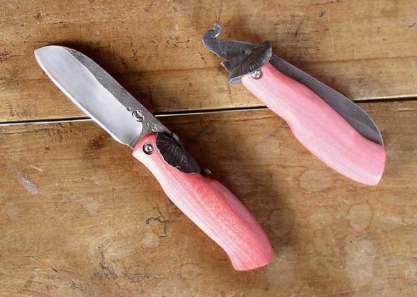 Couteau de poche éléphant Mickael Moing