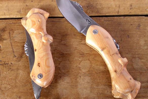 Couteau de poche hippopotame Mickaël Moing