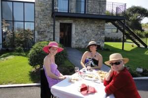 Déjeuner champêtre pour la fête de la gastronomie des Couteliers Basques