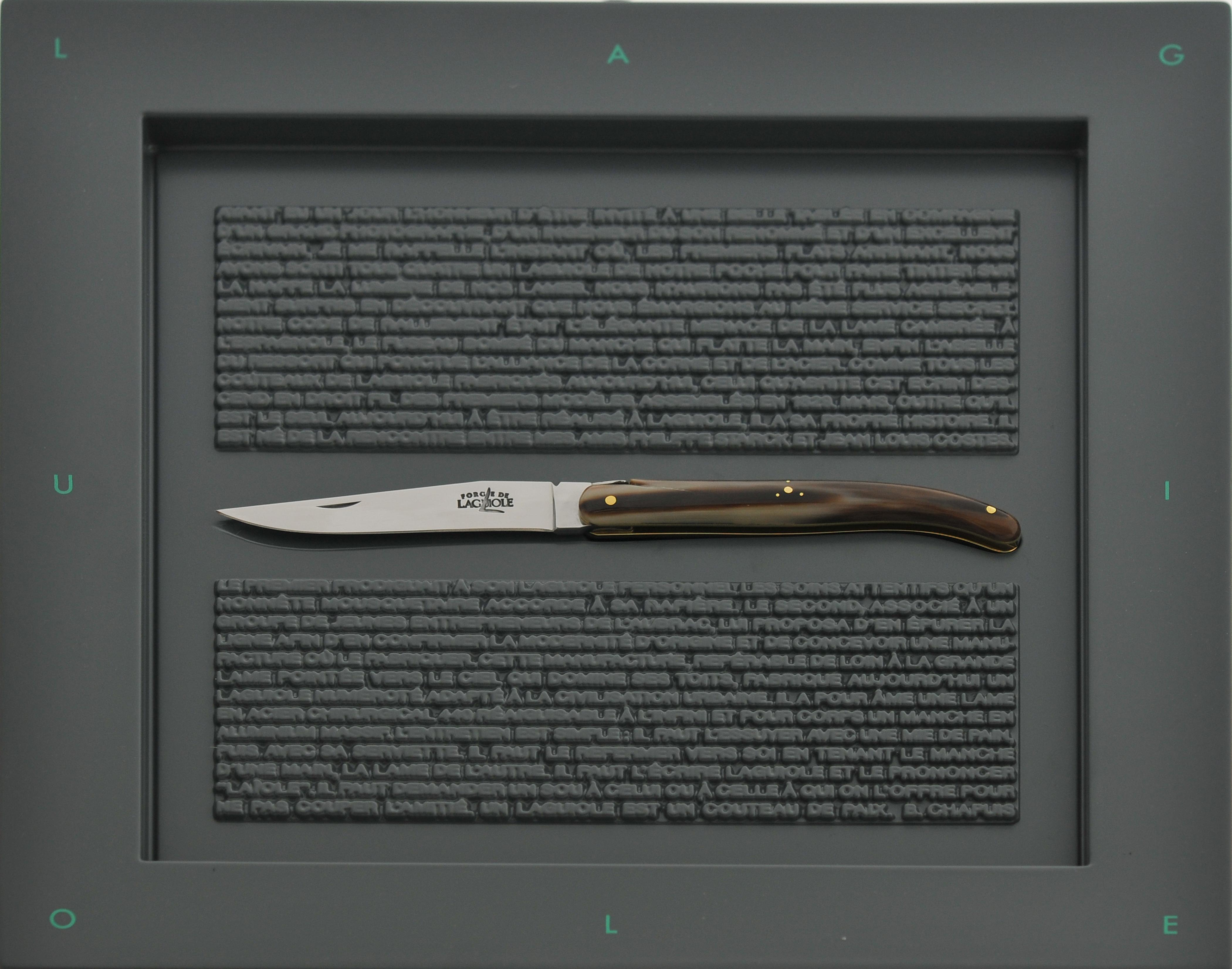 Couteau laguiole Starck