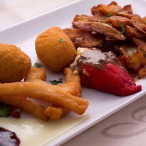 Un repas dans le restaurant chez gilles à Bayonne pour la fête des pères