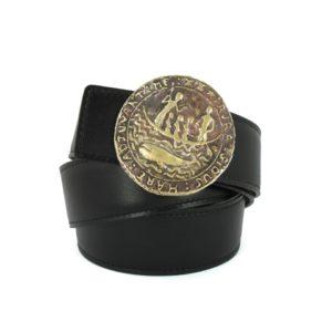 Boucle de ceinture en bronze fabriquée en France par Amestoy.