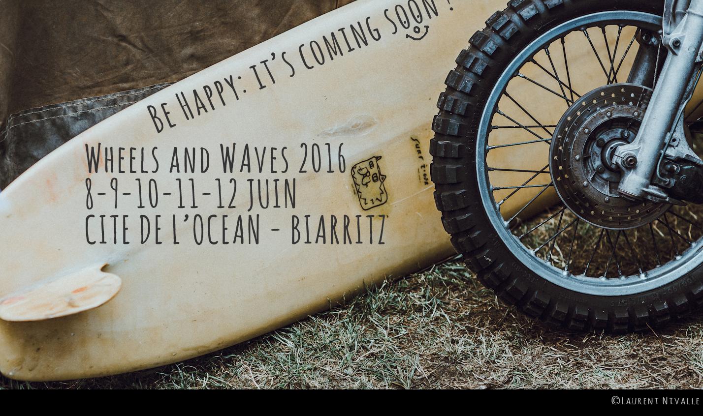 Au programme du weekend au Pays Basque : le wheels and waves de Biarritz
