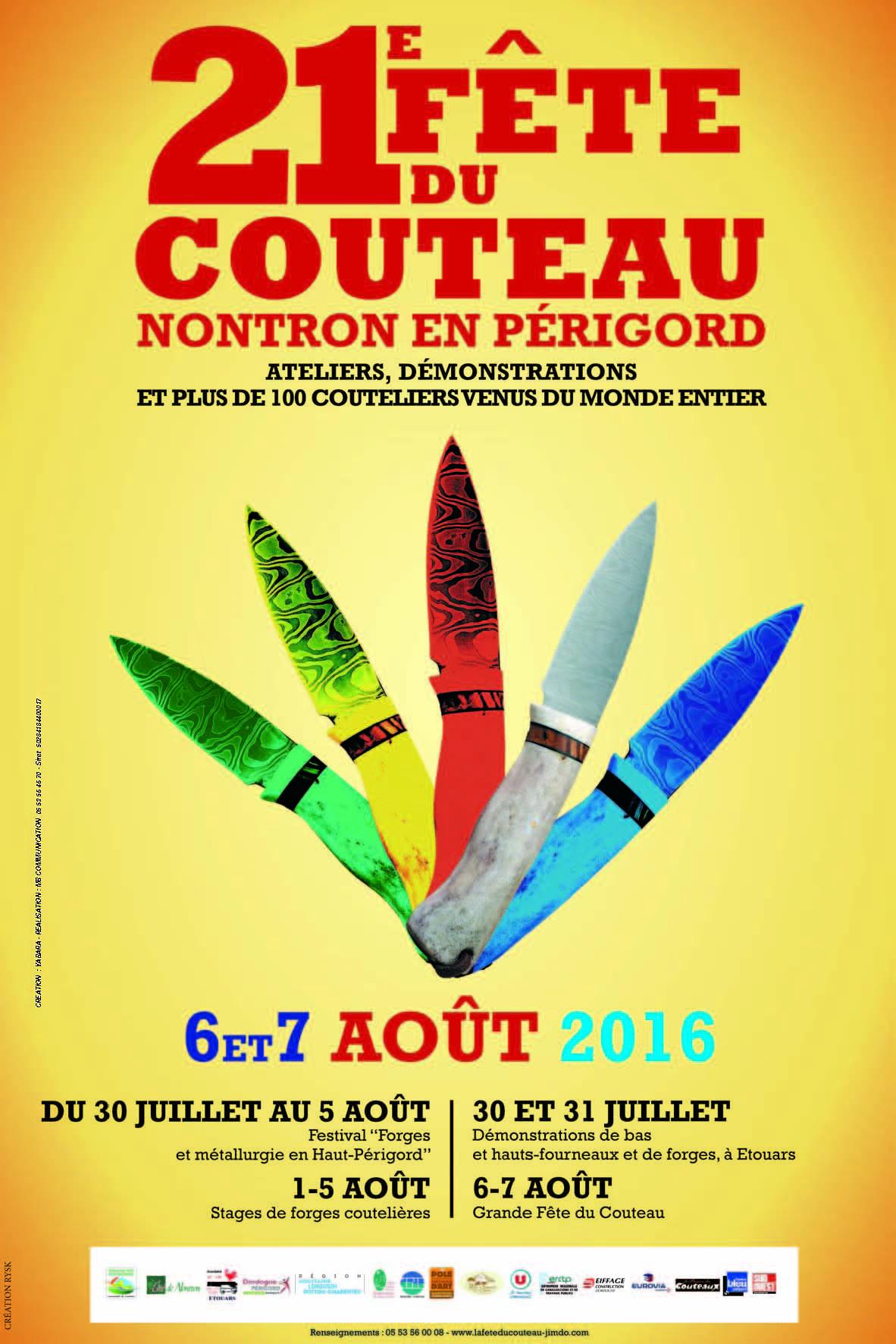 Fête du couteau de Nontron 2016
