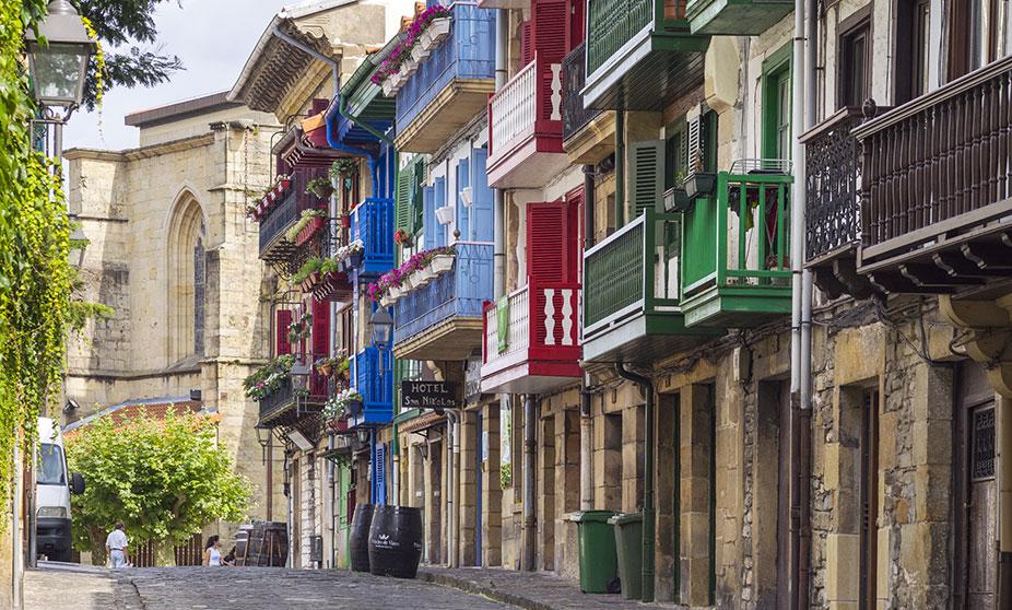 Visiter Fontarrabie Pays basque