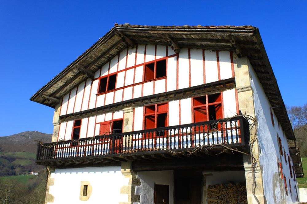 La maison à remonter le temps, Ortillopitz à Sare, Pays Basque