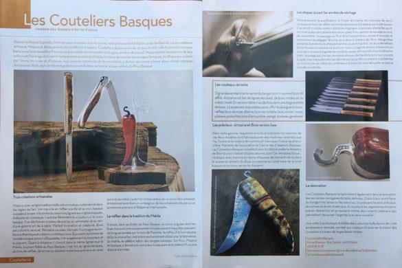 Les Couteliers Basques dans Maison Actuelle !