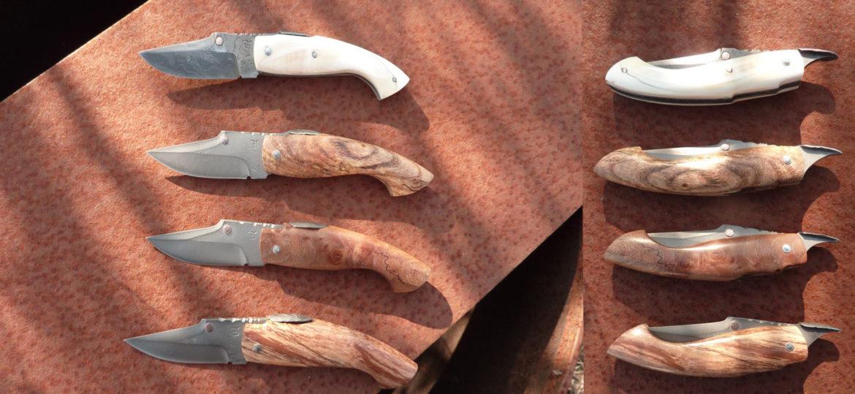 Collection de couteau renard en piémontais de Thierry Desnoix