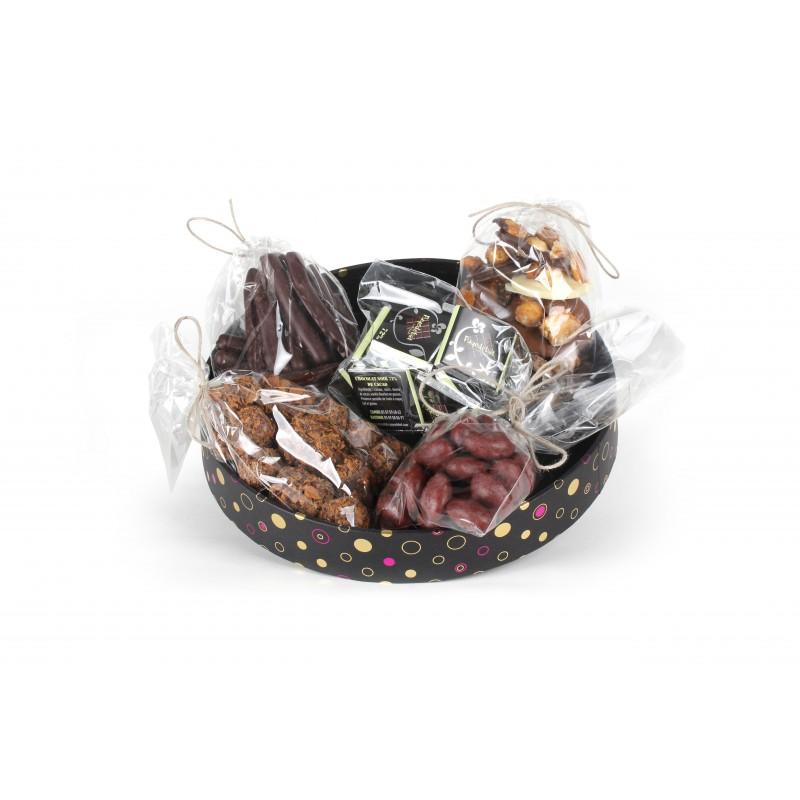 Coffret de chocolats Puyodebat pour Noël
