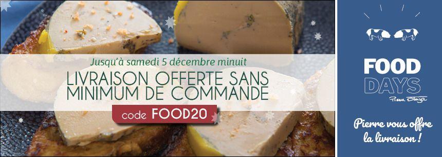 Food Days : livraison offerte chez Pierre Oteiza