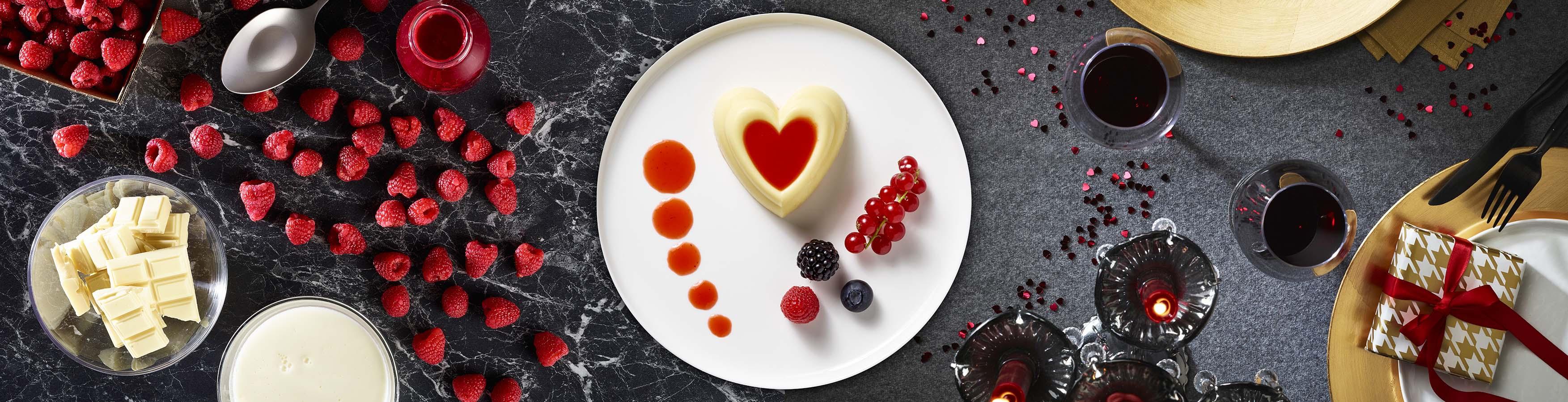Dessert Saint Valentin de l'Etoile des Gourmets