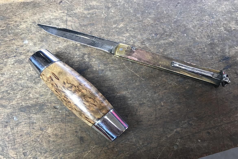 Couteau tonneau