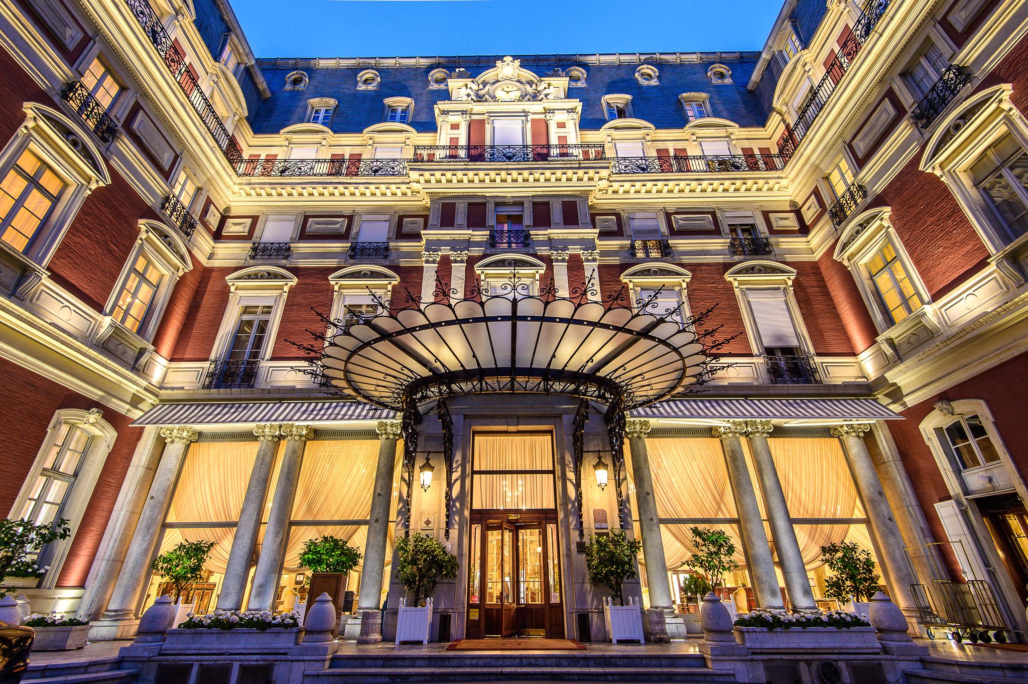 L'hôtel du Palais de Biarritz