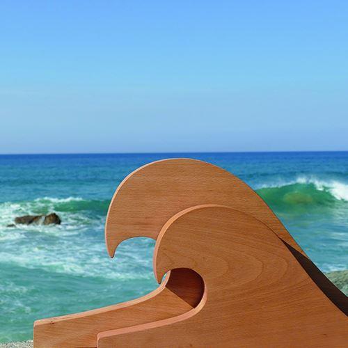 Planche à découper surf Assiettes & Compagnie