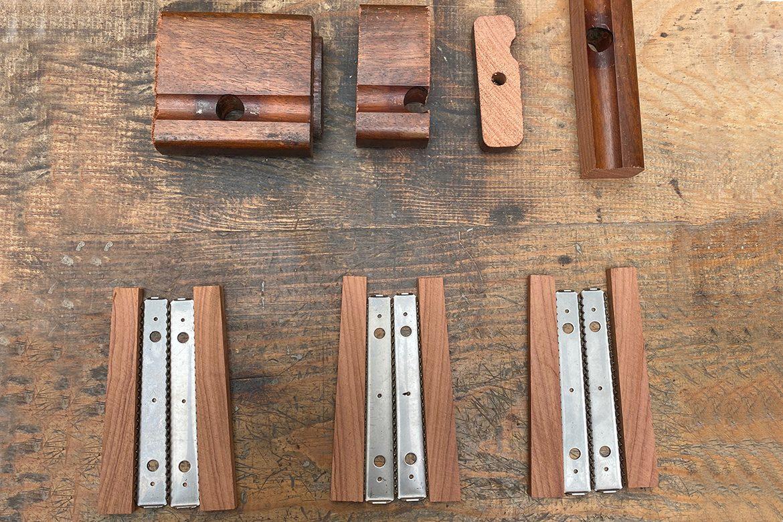 Couteaux de table en Palissandre du Brésil